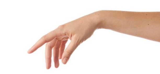 tremore mani